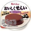 おいしくせんい 黒豆ココアプリン 63g